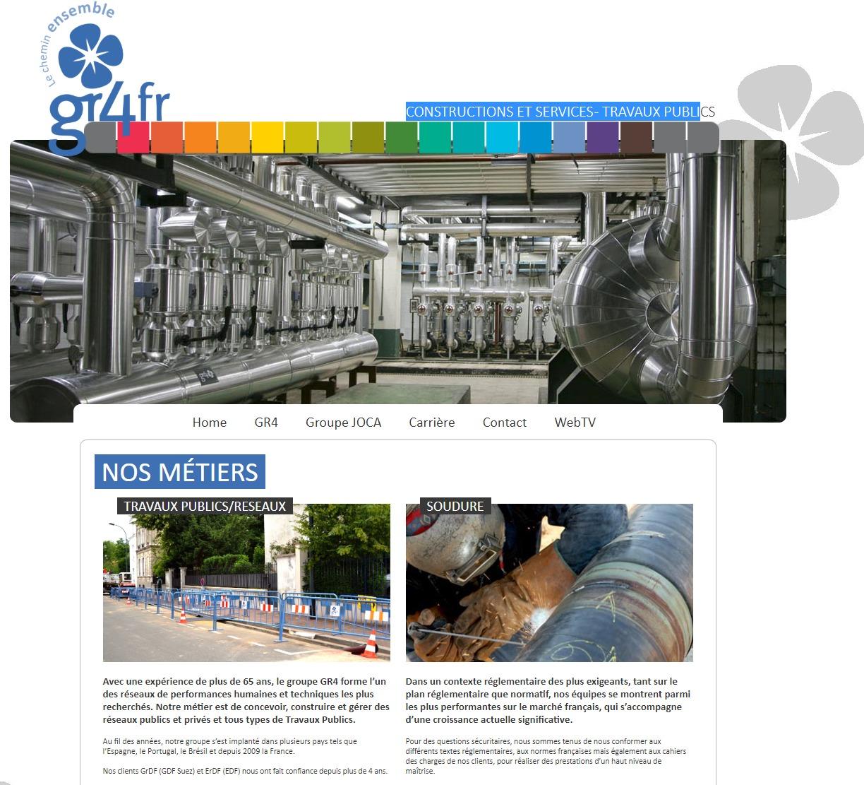 Site Internet GR4